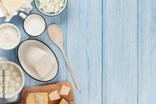 Recess Fitting Dairy products Dairy products. Sour cream, milk, cheese, egg, yogurt and butter