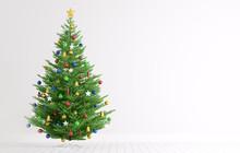 Interior With Christmas Tree 3...