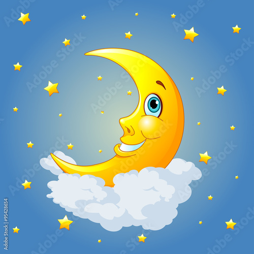 Poster Magie Smiling Moon