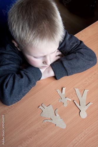 child custody papers