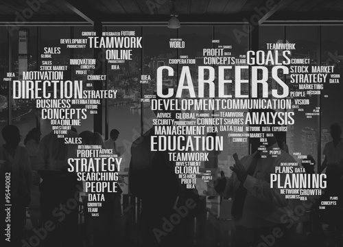 Careers Analysis Cooperation Data Development Concept - Buy