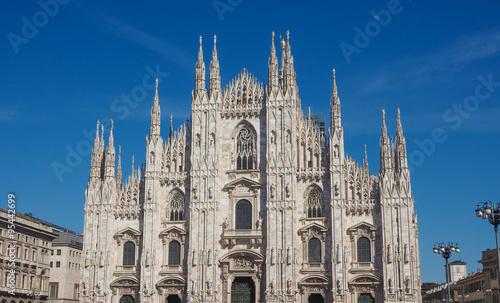 Staande foto Milan Duomo meaning Cathedral in Milan