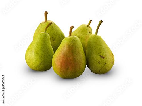 Organic Anjou Pears Canvas Print