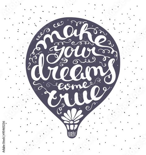 Fototapeta słowa wypisane w balonie na jasnym tle