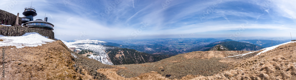 Fototapety, obrazy: Śnieżka, góry, Karpacz