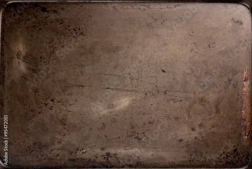 Old Baking Sheet Texture Canvas-taulu