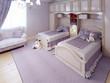 Classic children bedroom trend