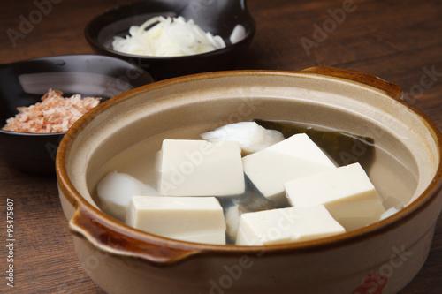Foto op Plexiglas 湯豆腐