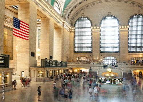 Fotografía Main hall Grand Central Terminal, New York