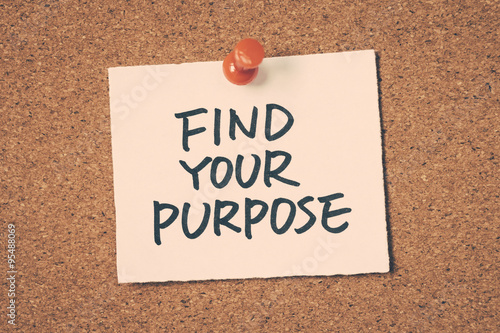 Photo  find your purpose