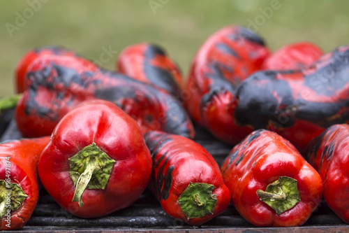 Fotografia Red sweet pepper