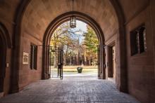Phelps Gate At Yale University...