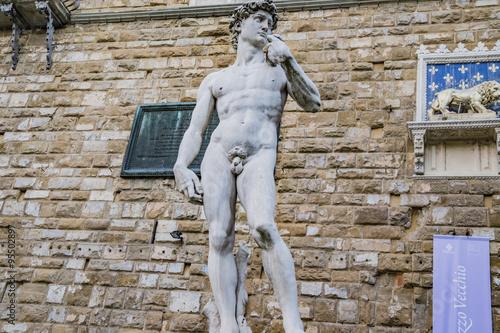 Fotografie, Obraz  statua