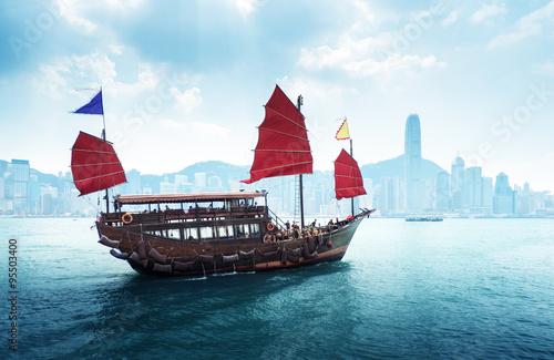 Fotografía Hong Kong harbour