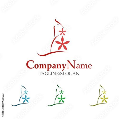Photo  wedding logo icon vector