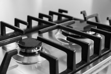 Detail Of Gas Stoves, Kitchen