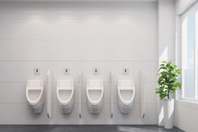 Saubere Urinale Im WC