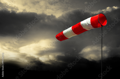 Canvas Prints Storm Sturmwarnung