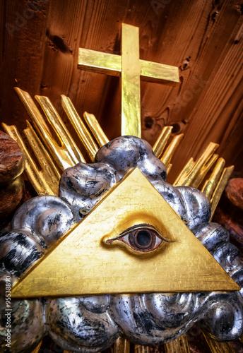 Fotografija  freemason symbol
