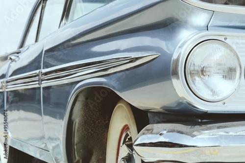 Papiers peints Vintage voitures image of Luxury vintage car side