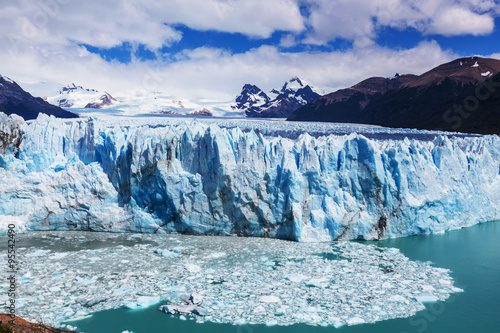 Fotobehang Gletsjers Glacier in Argentina