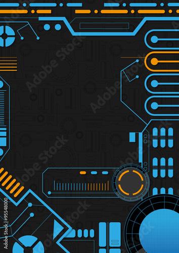 Sci-Fi Background Design