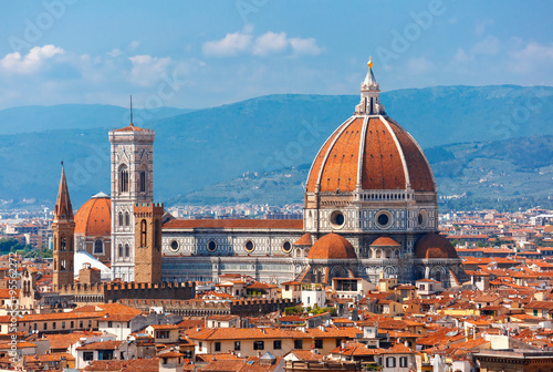 Fotografie, Obraz  Duomo Santa Maria Del Fiore in Florence, Italy