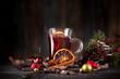Glühwein mit Weihnachtsgewürzen