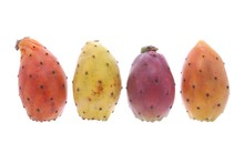 Cactus Fruit Isolated On A White Background