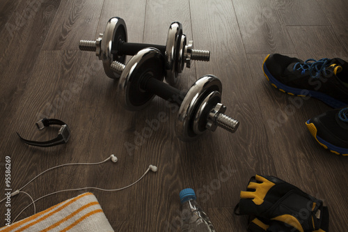 Fotografia  equipment for fitness