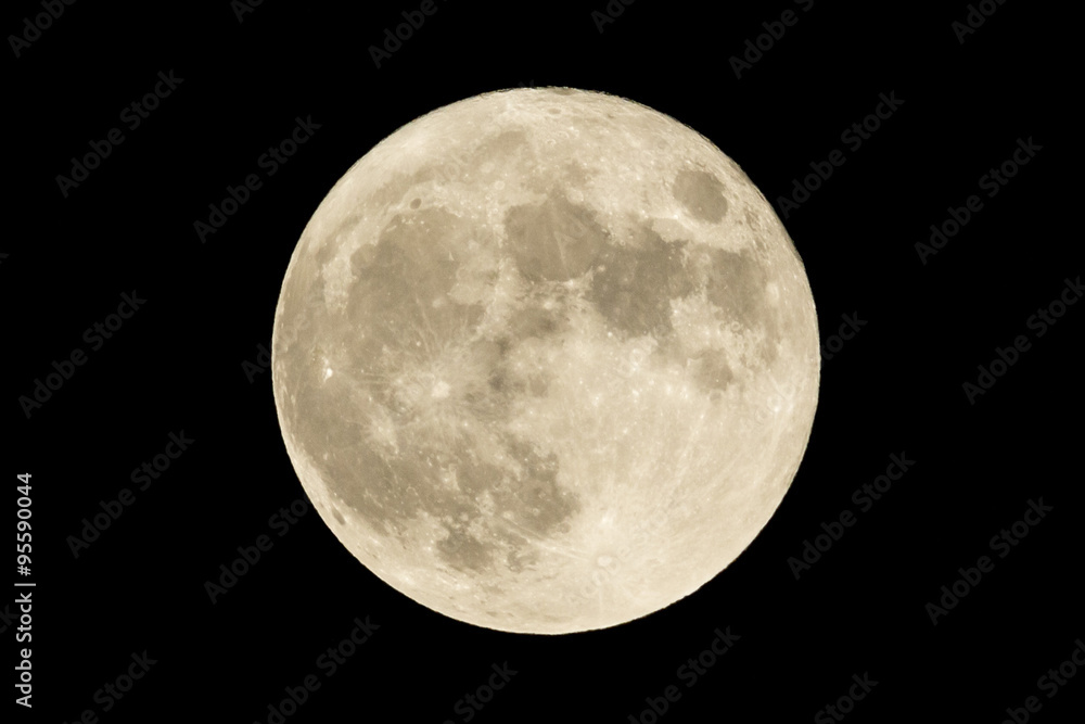 Fototapety, obrazy: Full moon