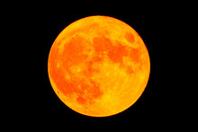 Red Blood Moon Full Moon