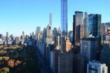 New York Cityscape At Columbus...