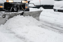 Snowplow Removing Snow On The ...