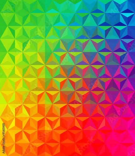 Foto op Aluminium ZigZag vector colorful background