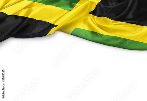 Obraz na plátně Jamaika Banner