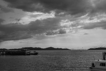 Black And White View, Port Bef...