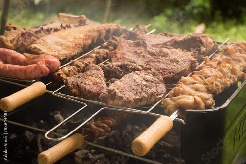 Valokuva  Churrasco - Carne na brasa