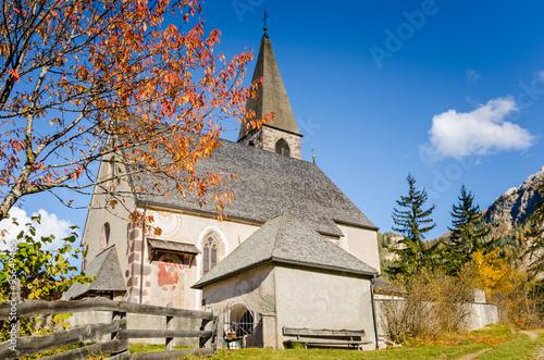 Fototapety, obrazy: Traditional Alpine Church