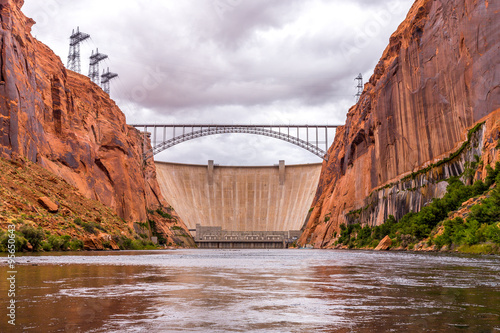 Foto op Canvas Dam Glen Canyon Dam