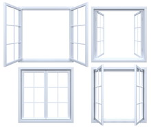 Collection Of Isolated Window ...