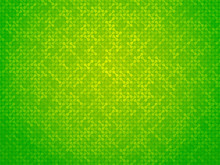 Abstract Green Linking Dots Ba...