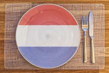 Dinner Plate For Netherlands