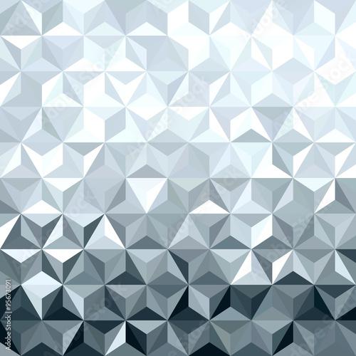 metalu-srebra-3d-geometrii-niski-poli-bezszwowy-wzor