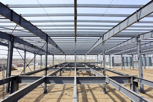 Carta da parati The steel structure