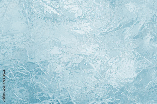 Fotografie, Obraz  illustrated frozen ice texture