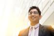 Asian Indian businessman portrait