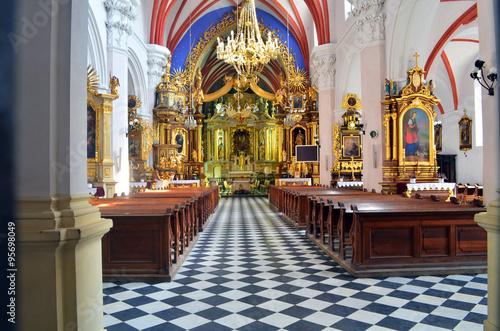 Fototapeta kościół wnętrze  obraz