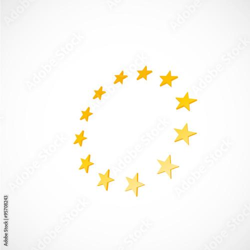 Fotografía  étoile, union européenne