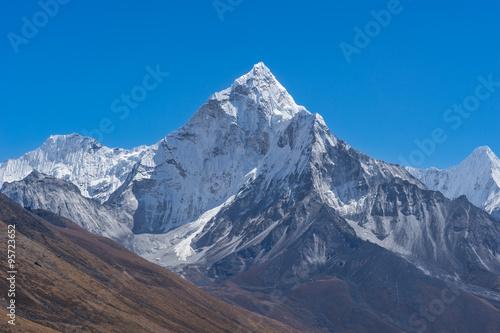 Photo  Ama Dablam mountain, Everest region